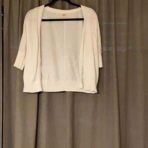 Missimo Cartigan - White, Size M